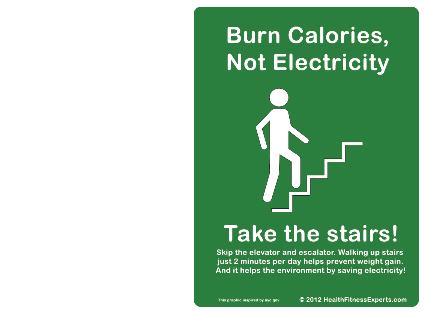 Proč nejezdím výtahem ani eskalátorem?