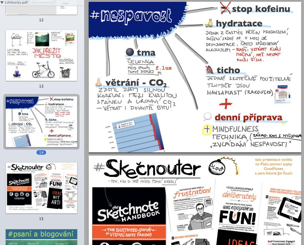 Muž 2.0, jak si co nejkomplikovaněji zjednodušit život – přednáška pro iCon Prague 2014